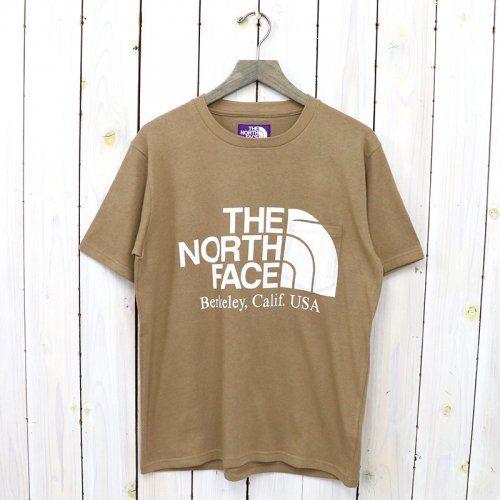 THE NORTH FACE PURPLE LABEL『H/S Logo Tee』(Coyote)