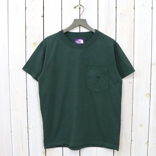 THE NORTH FACE PURPLE LABEL『7oz H/S Pocket Tee』(Vintage Green)