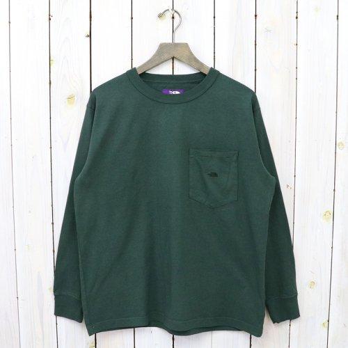 THE NORTH FACE PURPLE LABEL『7oz L/S Pocket Tee』(Vintage Green)