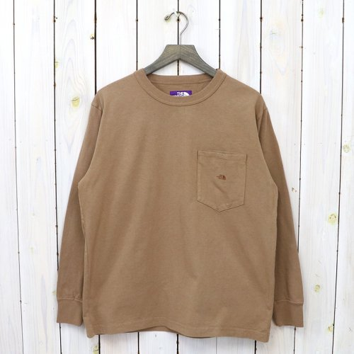 THE NORTH FACE PURPLE LABEL『7oz L/S Pocket Tee』(Coyote)