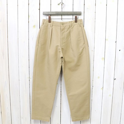 ENGINEERED GARMENTS『Carlyle Pant-Cotton Double Cloth』(Khaki)