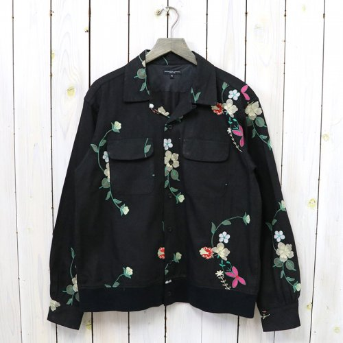 ENGINEERED GARMENTS『Classic Shirt-Floral Embroidery』