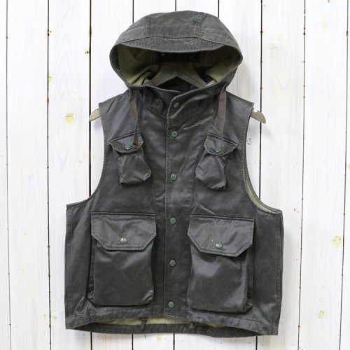 ENGINEERED GARMENTS『Field Vest-Coated Twill』(Dk.Olive)