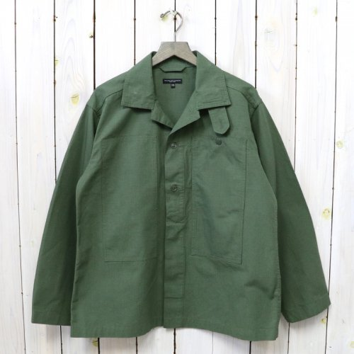 ENGINEERED GARMENTS『Fatigue Shirt-Cotton Ripstop』(Olive)