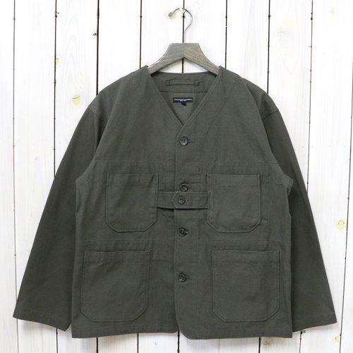 ENGINEERED GARMENTS『Cardigan Jacket-Heavyweight Cotton Ripstop』(Olive)