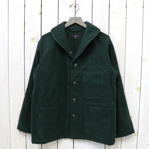ENGINEERED GARMENTS『Shawl Collar Jacket-Polyester Fake Melton』(Forest)