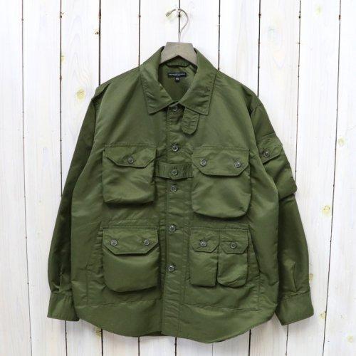 ENGINEERED GARMENTS『Explorer Shirt Jacket-Flight Satin Nylon』(Olive)