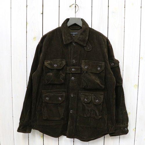 ENGINEERED GARMENTS『Explorer Shirt Jacket-Cotton 8W Corduroy』(Brown)