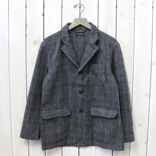 ENGINEERED GARMENTS『Loiter Jacket-Poly Wool Glen Plaid』(Grey/Maroon)