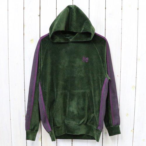 Needles『Track Hoody-C/Pe Velour』(Green)