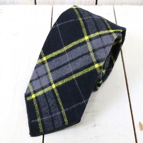 ENGINEERED GARMENTS『Neck Tie-Cotton Twill Plaid』(Black/Yellow)