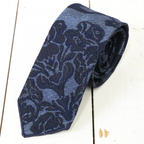 ENGINEERED GARMENTS『Neck Tie-Polyester Floral Jacquard』