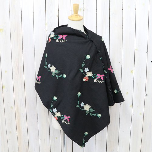 ENGINEERED GARMENTS『Button Shawl-Floral Embroidery』