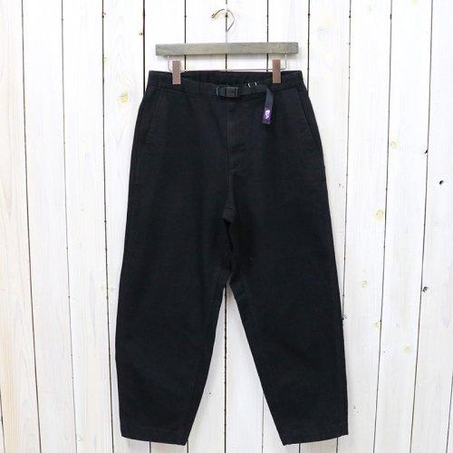 THE NORTH FACE PURPLE LABEL『Webbing Belt Denim Wide Tapered Pants』(Black)