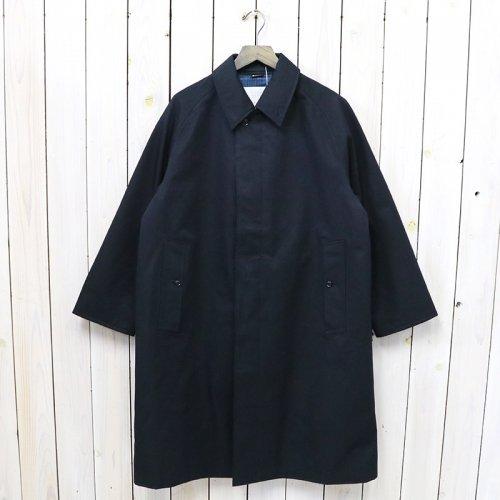 nanamica『GORE-TEX Balmacaan Coat』(Navy)