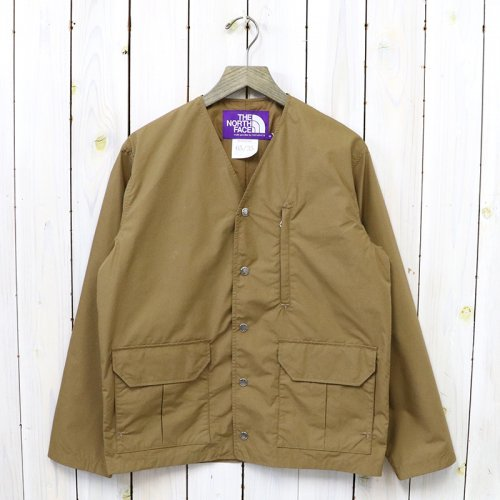THE NORTH FACE PURPLE LABEL『Medweight 65/35 Hopper Field Cardigan』(Coyote)
