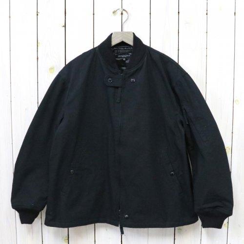 ENGINEERED GARMENTS『Aviator Jacket-Heavyweight Cotton Ripstop』(Black)