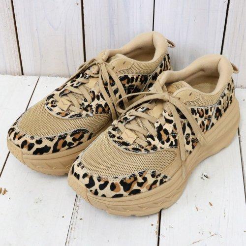 ENGINEERED GARMENTS×Hoka One One『Bondi L』(Leopard)