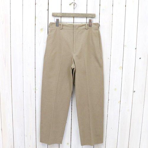Kaptain Sunshine『Scottish Sideseemless Trousers』(Khaki)