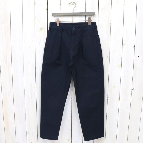 ENGINEERED GARMENTS『Carlyle Pant-Cotton Double Cloth』(Navy)