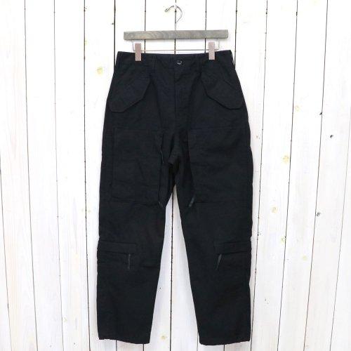 ENGINEERED GARMENTS『Aircrew Pant-Heavyweight Cotton Ripstop』(Black)