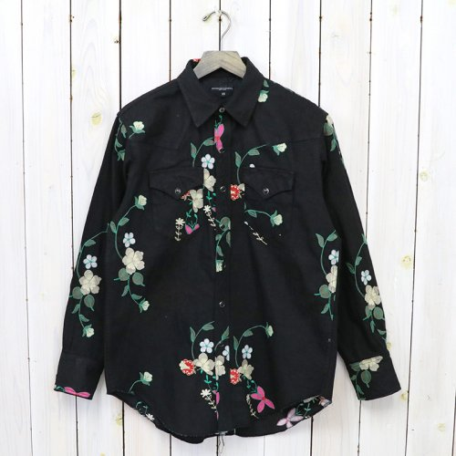ENGINEERED GARMENTS『Combo Western Shirt-Floral Embroidery』