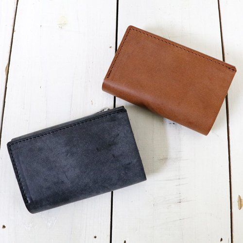 hobo『Trifold Compact Wallet  Oiled Cow Leather』