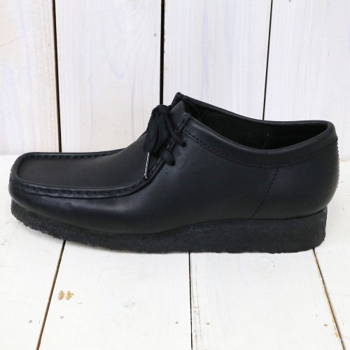 Clarks『Wallabee』(Black Leather)