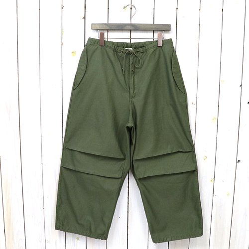 orSlow『LOOSE FIT ARMY TROUSER』(ARMY GREEN)
