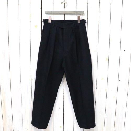 Kaptain Sunshine『Gurkha Trousers』(Ink Black)