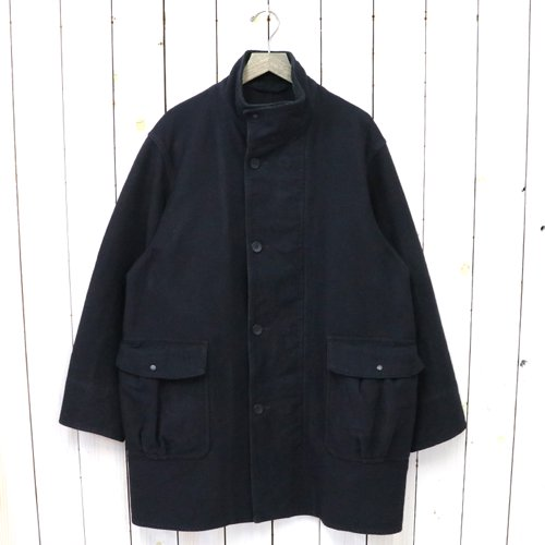 Kaptain Sunshine『Stand-collar Coat』(Ink Black)
