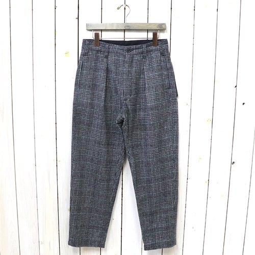ENGINEERED GARMENTS『Carlyle Pant-Poly Wool Glen Plaid』(Grey/Maroon)