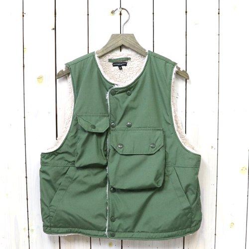 ENGINEERED GARMENTS『Cover Vest-PC Poplin』(Olive)