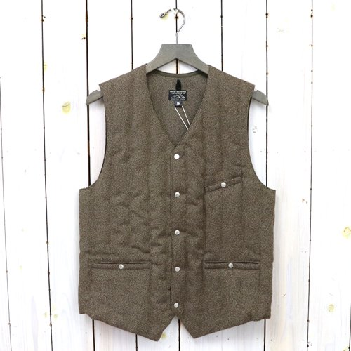 Rocky Mountain Featherbed『JS Down Gillet SYN-Tweed』(BROWN)