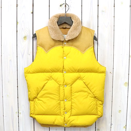 Rocky Mountain Featherbed『Christy Vest』(YELLOW)