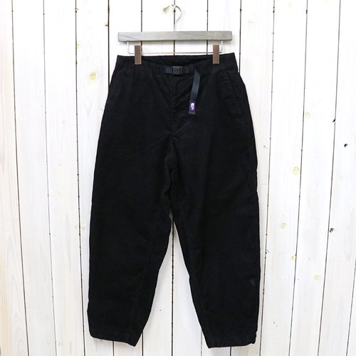 THE NORTH FACE PURPLE LABEL『Corduroy Wide Tapered Pants』(Black)
