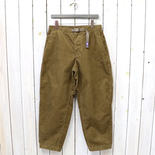 THE NORTH FACE PURPLE LABEL『Corduroy Wide Tapered Pants』(Coyote)