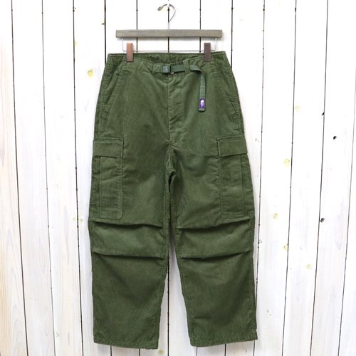 THE NORTH FACE PURPLE LABEL『Corduroy Cargo Pants』(Khaki Green)