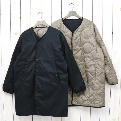 nanamica『Reversible Down Coat』(Black)