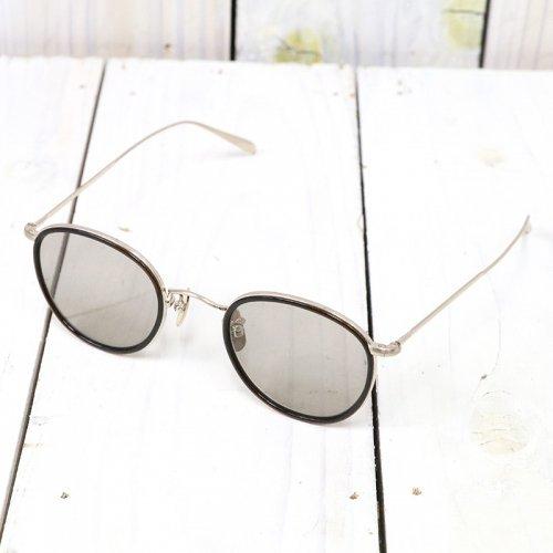 hobo『Round Frame Sunglasses Titanium by KANEKO OPTICAL』(Gold)