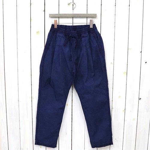 hobo『Artisan Easy Pants Cotton Twill Indigo Dyed』