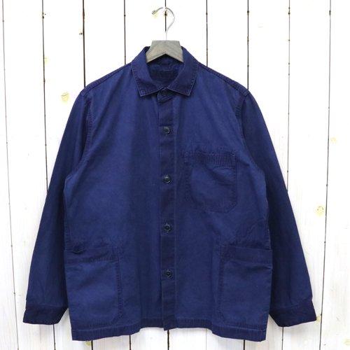 hobo『Artisan Shirt Jacket Cotton Twill Indigo Dyed』