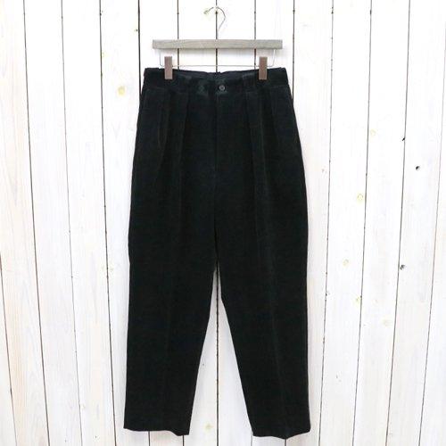 Kaptain Sunshine『2Pleats Trousers』(Black)