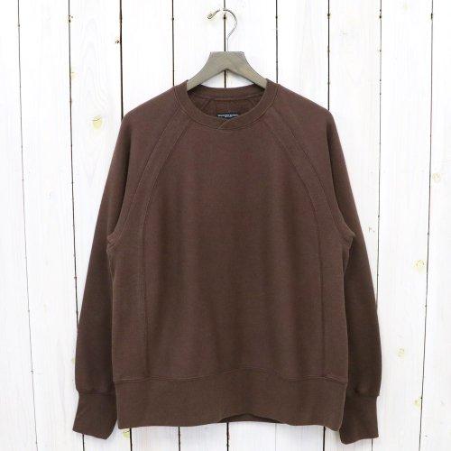 ENGINEERED GARMENTS『Raglan Crew-Cotton Heavy Fleece』(Brown)