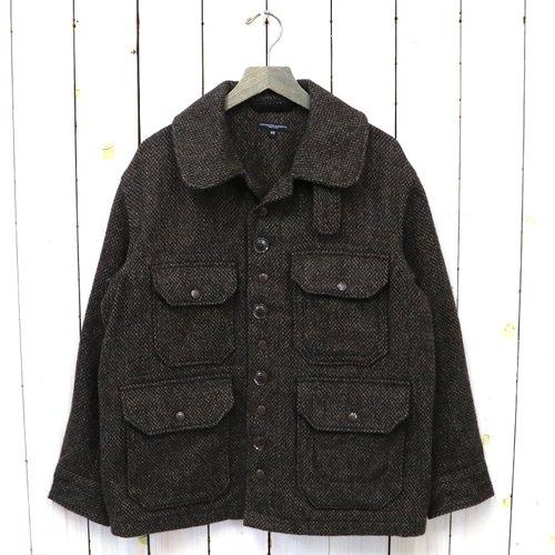ENGINEERED GARMENTS『Cruiser Jacket-Tri Blend Tweed』(Brown)
