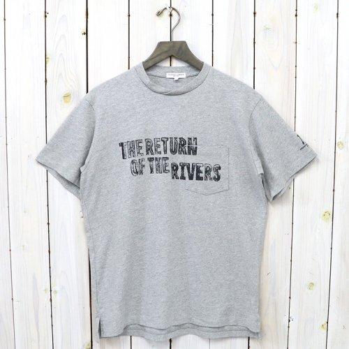 ENGINEERED GARMENTS『Printed Cross Crew Neck T-shirt-The Return』