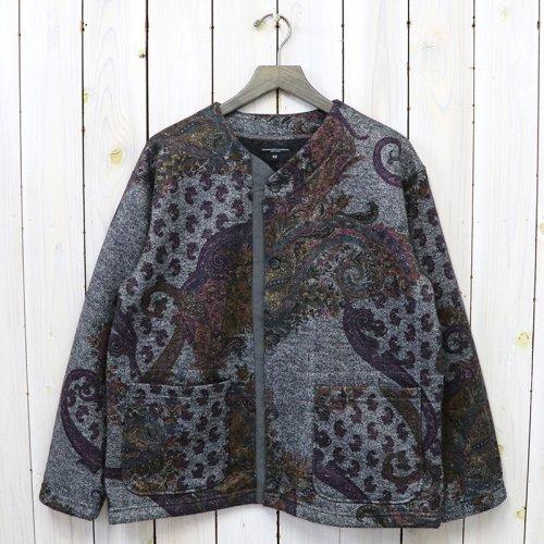 ENGINEERED GARMENTS『Crewneck Cardigan-Poly Wool Paisley Print Knit』