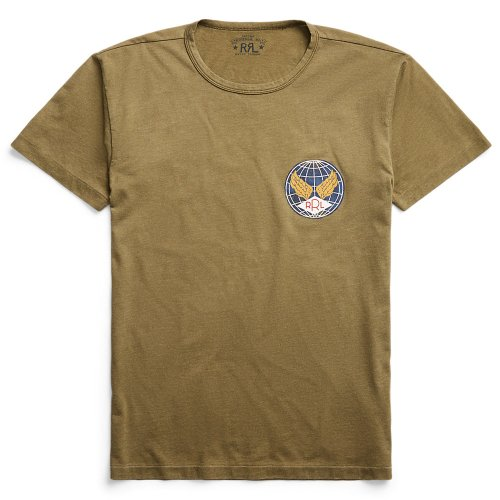 Double RL『JERSEY GRAPHIC T-SHIRT』(OLIVE)