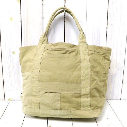 hobo『Carry-All Tote M Upcycled FRENCH ARMY Cloth』