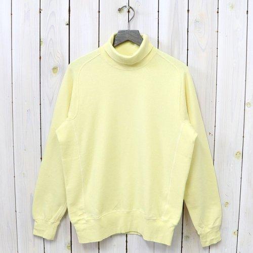 ANATOMICA『Sweat Shirts Turtle』(Lemon)
